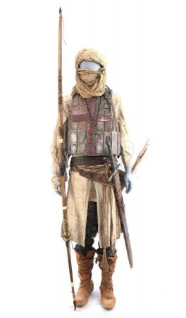 Lot # 73: ROBIN HOOD (2018) - Guy of Gisbourne's Crusader Costume with Weaponry