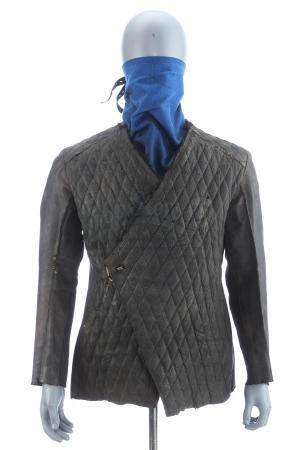 "Lot # 83: ROBIN HOOD (2018) - Robin's Stunt ""The Hood"" Costume Components"