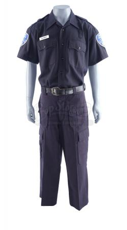 Lot #4 - 21 JUMP STREET (2012) - Schmidt's (Jonah Hill) Police Uniform