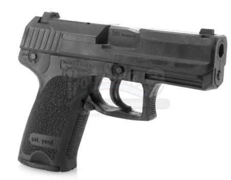 Lot #5 - 24 (T.V. SERIES, 2002-2010) - Jack Bauer's (Kiefer Sutherland) Stunt 9mm Pistol