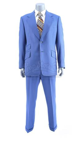 Lot #65 - ANCHORMAN: THE LEGEND OF RON BURGUNDY (2004) - Ron Burgundy's (Will Ferrell) Blue Suit