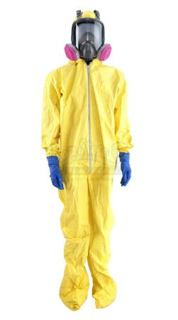 Lot #148 - BREAKING BAD (T.V. SERIES, 2008) - Walter White's (Bryan Cranston) Hero Hazmat Costume