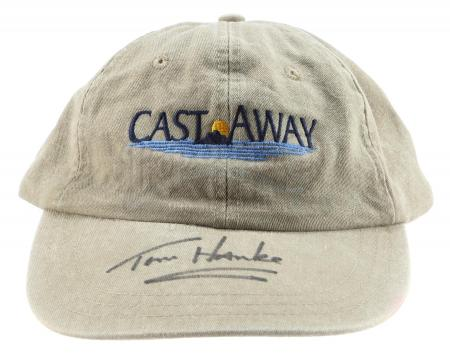 Lot #153 - CAST AWAY (2000) - Tom Hanks-Signed Crew Hat
