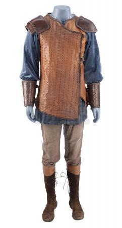 Lot #158 - THE CHRONICLES OF NARNIA: PRINCE CASPIAN (2008) - Edmund Pevensie's (Skandar Keynes) Armored Costume