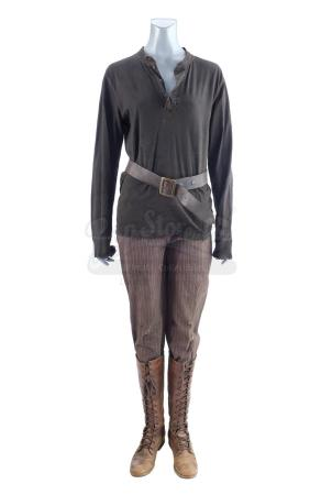 Lot #348 - THE HUNGER GAMES (2012) - Katniss Everdeen's (Jennifer Lawrence) Hunting Costume