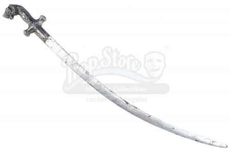 Lot #364 - INDIANA JONES AND THE TEMPLE OF DOOM (1984) - Thuggee Guard Sword