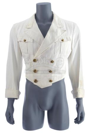 Lot #373 - INDIANA JONES AND THE LAST CRUSADE (1989) - Indiana Jones' (Harrison Ford) Screen-Matched Zeppelin Waiter Jacket