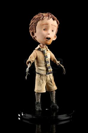Lot #378 - JAMES AND THE GIANT PEACH (1996) - James Henry Trotter (Paul Terry) Stop-Motion Puppet