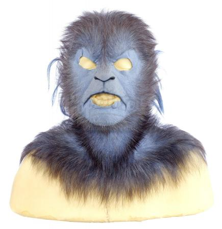 Lot #868 - X-MEN: FIRST CLASS (2011) - Beast (Nicholas Hoult) Master Cowl and Wig