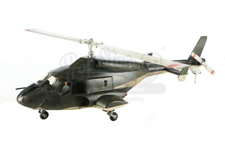 Lot #10 - AIRWOLF (T.V. SERIES, 1984-1987) - Airwolf Helicopter Model Miniature
