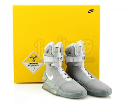 Lot #96 - BACK TO THE FUTURE PART II (1989) - 2011 Fox Foundation Light-Up Nike MAGs