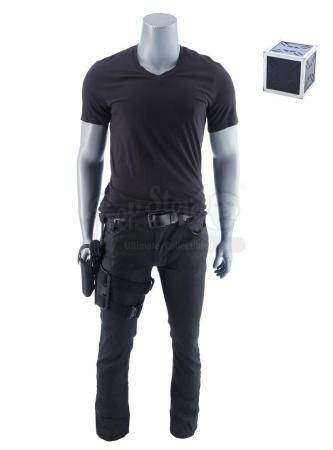 Lot #5 - Marvel's Agents of S.H.I.E.L.D. - Nick Fury's Costume with Toolbox