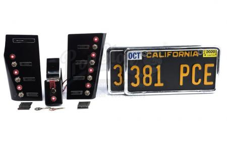 Lot #43 - Marvel's Agents of S.H.I.E.L.D. - L.O.L.A.'s Light-Up Dashboard Components, Keys, and License Plates