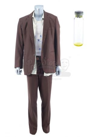 Lot #102 - Marvel's Agents of S.H.I.E.L.D. - Calvin Johnson's Post-I.C.E.R. 'Hyde' Costume with Empty Formula Vial