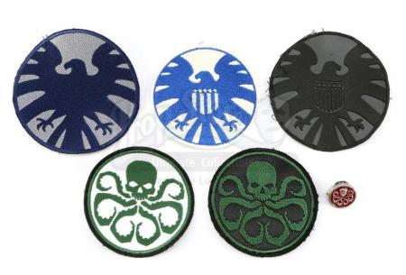 Lot #127 - Marvel's Agents of S.H.I.E.L.D. - Set of Six S.H.I.E.L.D. and Hydra Accessories