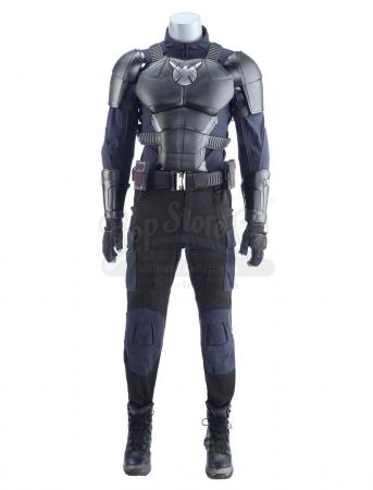 Lot #229 - Marvel's Agents of S.H.I.E.L.D. - Jeffrey Mace's 'The Patriot' Stunt Costume