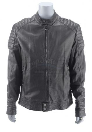 Lot #230 - Marvel's Agents of S.H.I.E.L.D. - Alphonso 'Mack' Mackenzie's Ghost Rider Motorcycle Jacket with Stunt SFX Hood
