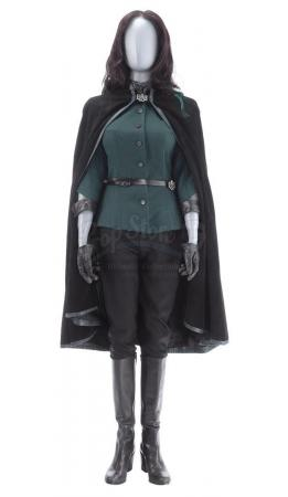 Lot #231 - Marvel's Agents of S.H.I.E.L.D. - AIDA's 'Madame Hydra' Stunt Full Cloak Costume with Wig