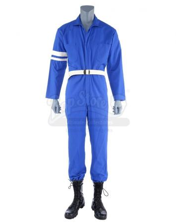 Lot #495 - Marvel's Agents of S.H.I.E.L.D. - Phil Coulson's 1970s S.H.I.E.L.D. Jumpsuit Costume