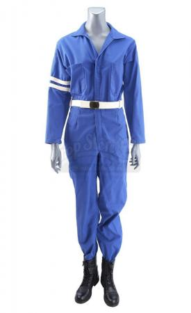 Lot #496 - Marvel's Agents of S.H.I.E.L.D. - Melinda May's 1970s S.H.I.E.L.D. Jumpsuit Costume