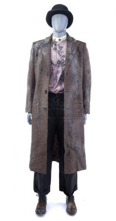 Lot # 43: THE HAUNTING OF HILL HOUSE - The Tall Man's Ghost Costume