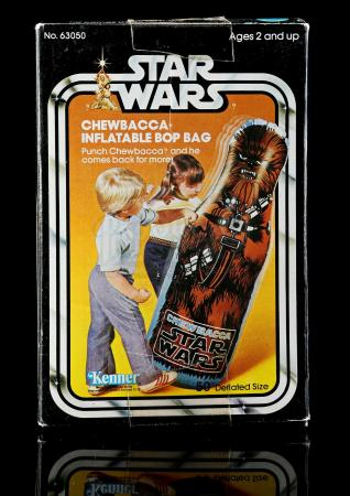 Lot # 2 - Chewbacca Inflatable Bop Bag - Sealed [Kazanjian Collection]