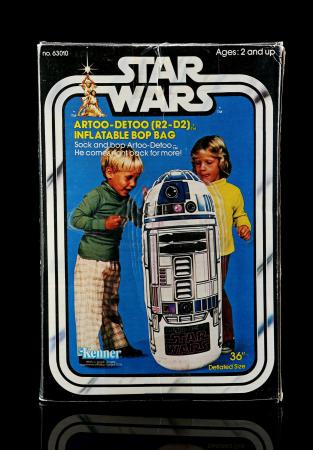 Lot # 3 - Artoo-Detoo (R2-D2) Inflatable Bop Bag - Sealed [Kazanjian Collection]
