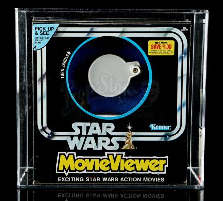 Lot # 6 - Star Wars Movie Viewer AFA 85