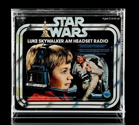 Lot # 8 - Luke Skywalker AM Headset Radio - Unused