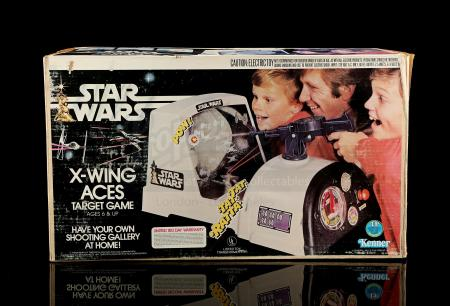 Lot # 9 - Star Wars X-Wing Aces Target Game [Kazanjian Collection]