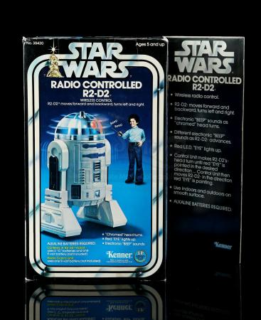 Lot # 10 - Radio-Controlled R2-D2 - Sealed [Kazanjian Collection]