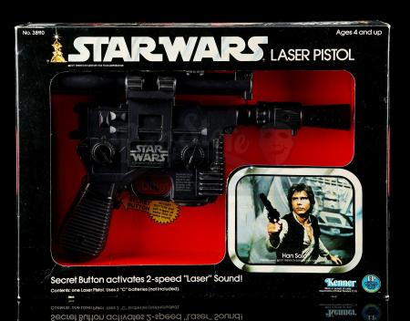 Lot # 11 - Star Wars Laser Pistol - Unused