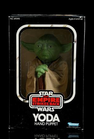 Lot # 14 - Yoda Hand Puppet [Kazanjian Collection]
