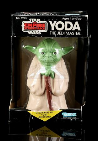 Lot # 15 - Yoda The Jedi Master Magic 8-Ball [Kazanjian Collection]