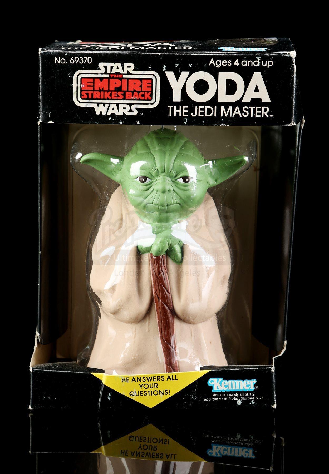 Lot # 15 - Yoda The Jedi Master Magic 8-Ball [Kazanjian Collection