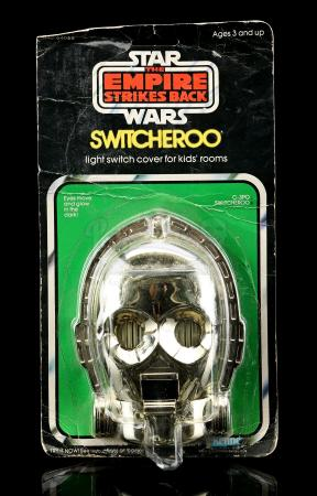Lot # 16 - C-3PO Switcheroo Light Switch Cover [Kazanjian Collection]
