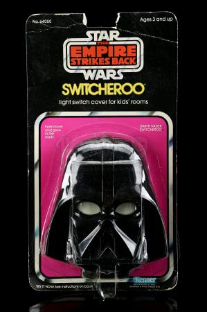 Lot # 17 - Darth Vader Switcheroo Light Switch Cover [Kazanjian Collection]
