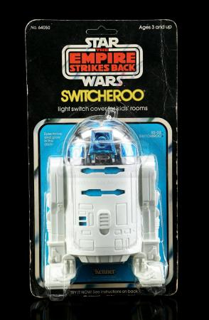 Lot # 18 - R2-D2 Switcheroo Light Switch Cover [Kazanjian Collection]