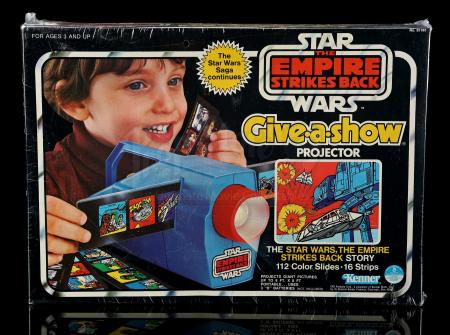 Lot # 19 - ESB Give-A-Show Projector With Slides - Sealed