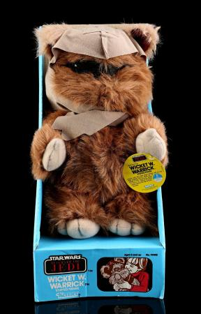 Lot # 23 - Plush Wicket W. Warrick - Unused