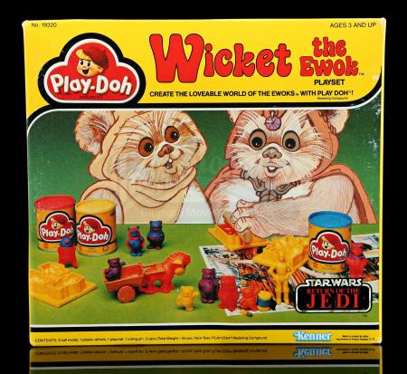 Lot # 24 - Wicket The Ewok Play Doh Playset - Unused [Kazanjian Collection]