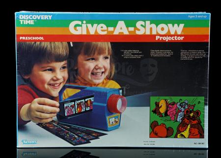 Lot # 25 - Ewoks Preschool Give-A-Show Projector Toy [Kazanjian Collection]