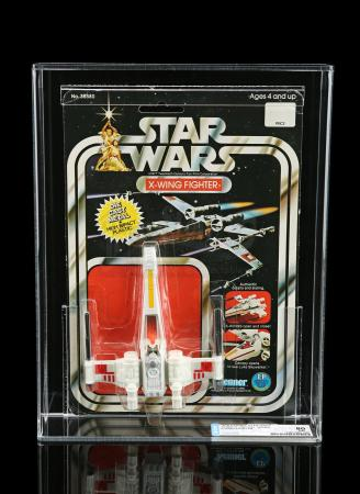 Lot # 26 - Diecast X-Wing Fighter SW12 DCA 80