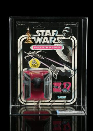 Lot # 27 - Diecast Darth Vader Tie Fighter SW21 DCA 75