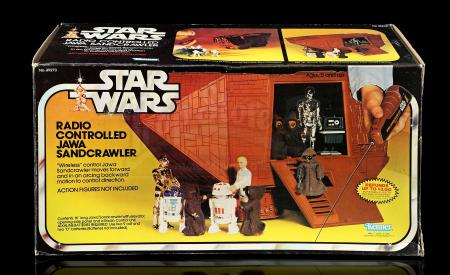 Lot # 37 - Radio Controlled Jawa Sandcrawler Vehicle - Sealed [Kazanjian Collection]