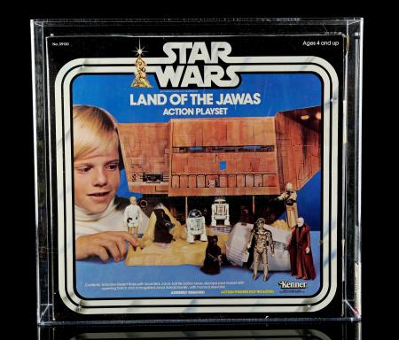 Lot # 38 - Land of the Jawas Action Playset AFA 80