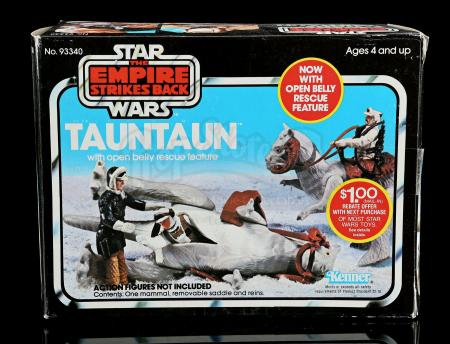 Lot # 43 - Tauntaun With Open Belly Rescue Feature - Sealed