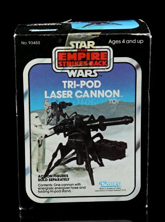 Lot # 47 - Tri-Pod Laser Cannon Toy - Sealed [Kazanjian Collection]