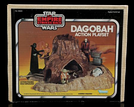 Lot # 48 - Dagobah Action Playset - Sealed