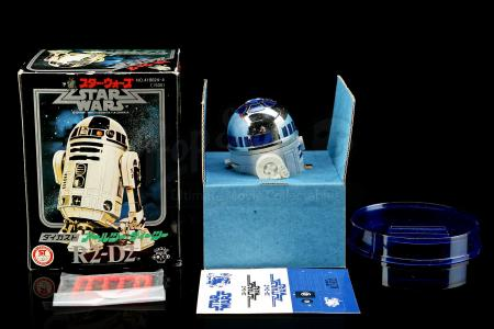 Lot # 72 - Takara Missile Firing R2-D2 Diecast Toy - Unused [Kazanjian Collection]